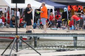 Biesenthal. Gute Stimmung und viel Sonnenschein - viele Besucher haben das 18. Wukenseefest so richtig genossen. Höhepunkt wurde wie auch schon in den Vorjahren das Drachenbootrennen. Insgesamt nahmen 23 Teams an Wettkämpfen teil.