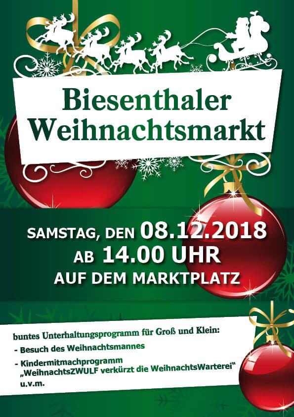 Biesenthaler Weihnachtsmarkt 2018
